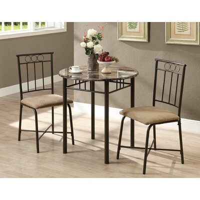 Monarch Specialties Inc. 3 Piece Dining Set II
