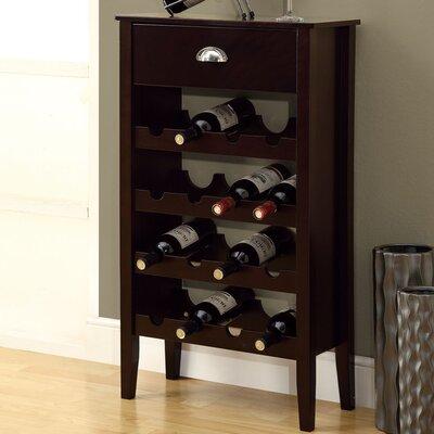 Monarch Specialties Inc. 16 Bottle Floor Wine Rack