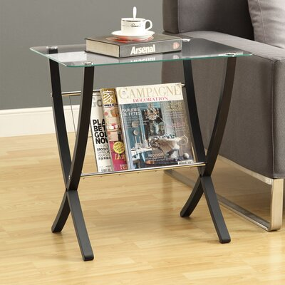 Monarch Specialties Inc. Magazine End Table Image