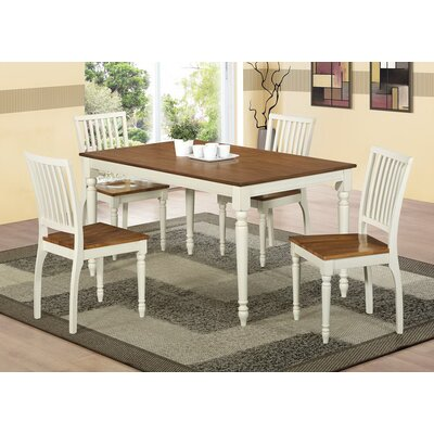 Beachcrest Home Bellvue 5 Piece Dining Set