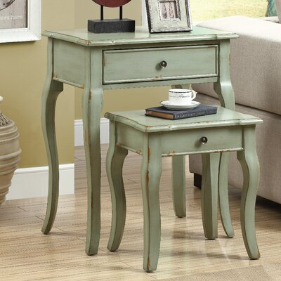 Monarch Specialties Inc. 2 Piece Nesting Table S..