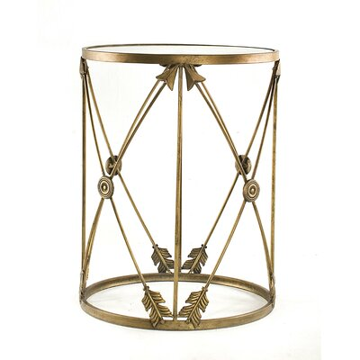 InnerSpace Luxury Products Barrel Side Table