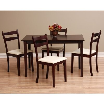 Warehouse of Tiffany Callan 5 Piece Dining Set