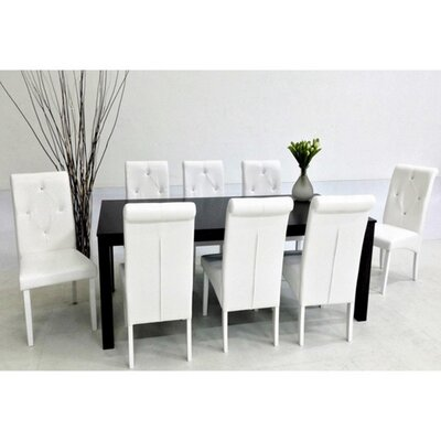 Warehouse of Tiffany Dita 9 Piece Dining ..
