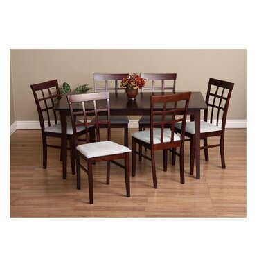 Warehouse of Tiffany Justin 7 Piece Dining Set