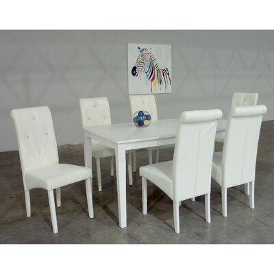 Warehouse of Tiffany Dita 7 Piece Dining Set