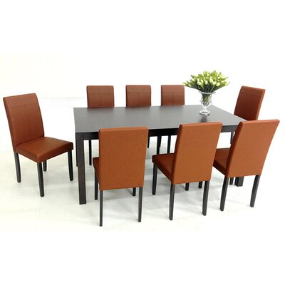 Warehouse of Tiffany 9 Piece Dining Set