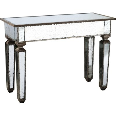 A&B Home Mirror Console Table
