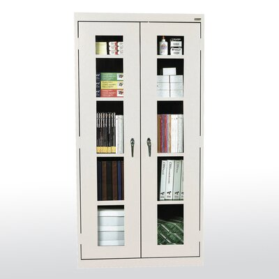 Sandusky Cabinets Clear View 2 Door Storage Cabinet