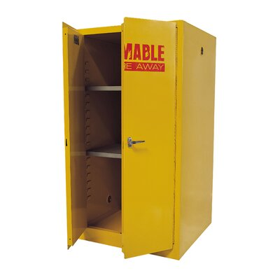 Sandusky Cabinets Flammable Safety 2 Door..
