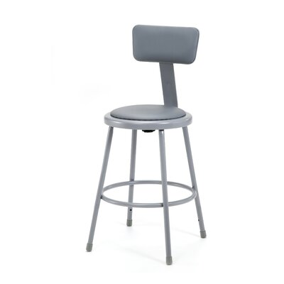 National Public Seating Stool with Adj..
