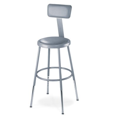 National Public Seating Height Adjustable St..