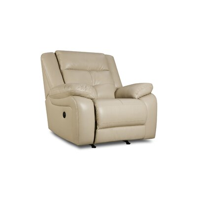 Simmons Upholstery Miracle Pearl Rocker Recliner