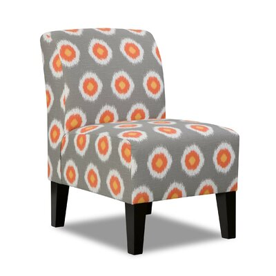 Simmons Upholstery Side Chair in Grey