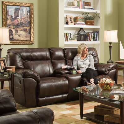 Darby Home Co Simmons Upholstery Colwyn Motion Loveseat