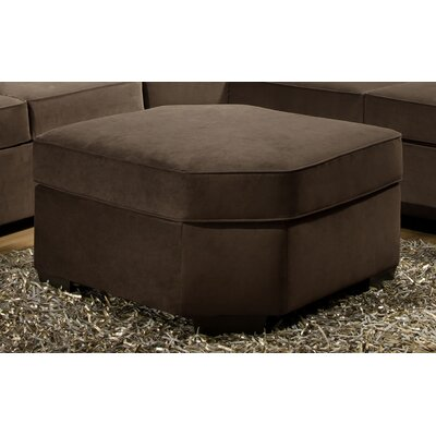 Simmons Upholstery Roxanne Wedge Ottoman