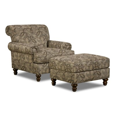 Astoria Grand Parisien Ottoman by Simmons Upholstery