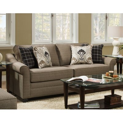 Simmons Upholstery Seguin Driftwood Hide-A-Bed Sleeper Sofa
