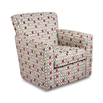 Latitude Run Simmons Upholstery Jon Swivel Barrel Chair