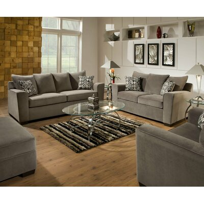 Simmons upholstery roxanne living room collection reviews wayfair for Simmons living room furniture sets