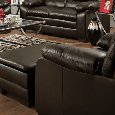 Simmons Upholstery Soho Bonded Leather Ch..
