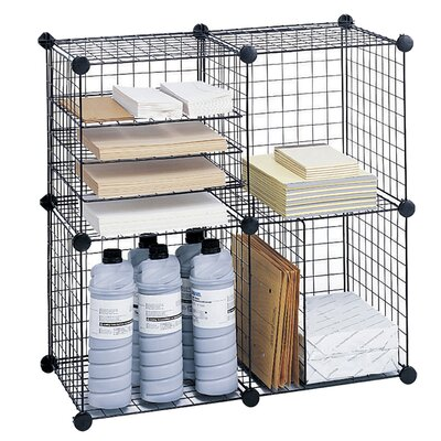 Safco Products Company Wire Cube Shelving System 5