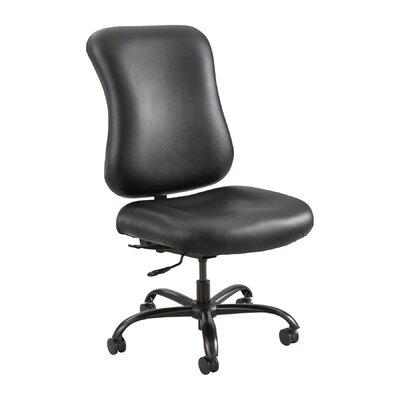 Safco Products Company Optimus? Leather Chair with Back Tilt