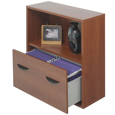 Safco Products Company Safco® Apres™ Modular Storage Shelf with Lower File Drawer 30
