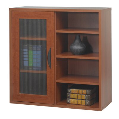 Safco Products Company Safco® Apres™ Modular Storage Single Door/Open Shelve 30