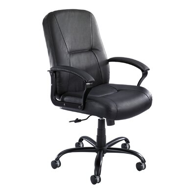 Safco Products Company Serenity Big and Tall High-Back Leather Chair