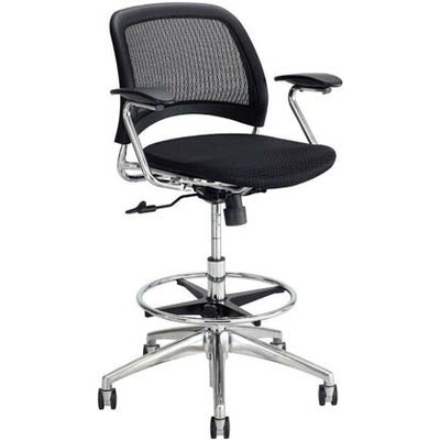 Safco Products Company Reve Mid-Back Mesh Back Task Chair with Arms Image