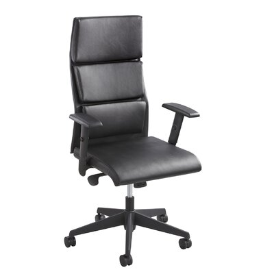 Safco Products Company Tuvi Series High-Back Leather Executive Office Chair