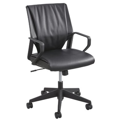 Safco Products Company Priya Leather Conference Chair