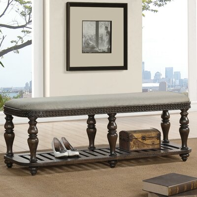 Rosalind Wheeler Beckles Upholstered Bedroom Bench
