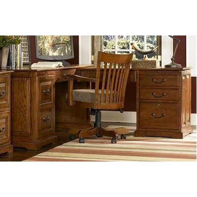 Riverside Furniture Seville Square Executive Desk