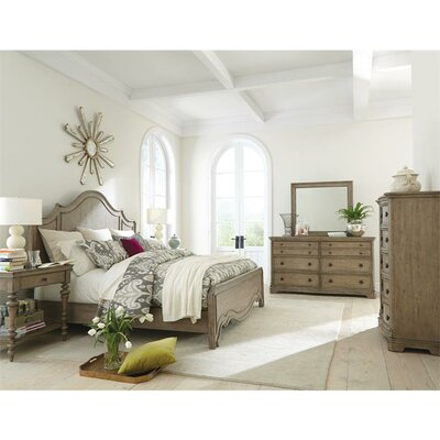 Riverside Furniture Corinne Panel Customizable Bedroom Set