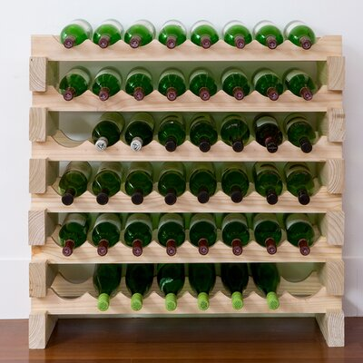 Vinotemp 48 Bottle Floor Wine Rack Image