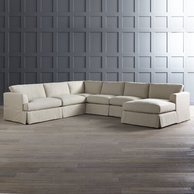 DwellStudio Warner Sectional With Chaise