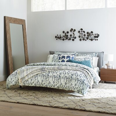 DwellStudio Upholstered Platform Bed