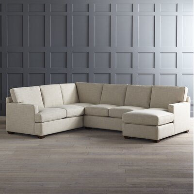 DwellStudio K2900  Johnnie Sectional With Chaise