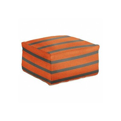 DwellStudio Striped Pouf