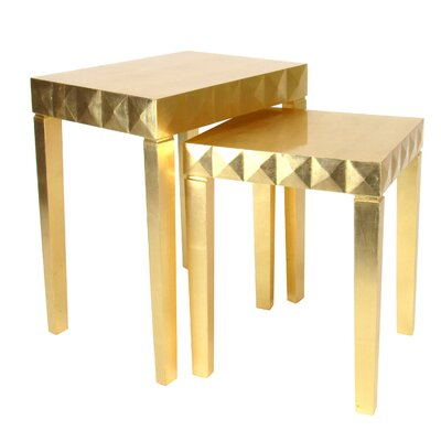Wayborn 2 Piece Nesting Table Set