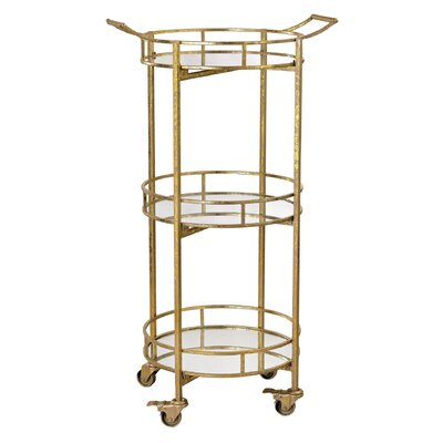 Mercer41 Ashburton Bar Serving Cart