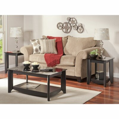 Latitude Run Wentworth 3 Piece Coffee Table Set