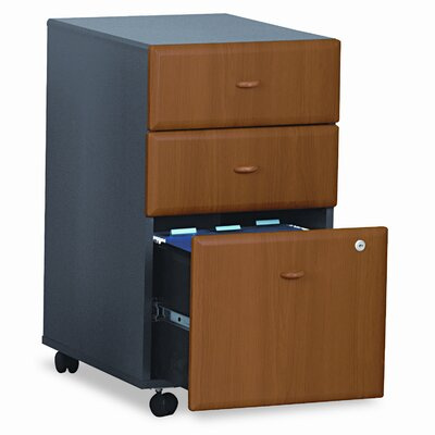 Bush Furniture 3-Drawer Mobile File