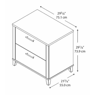 Red Barrel Studio Chase 2-Drawer Lateral ..