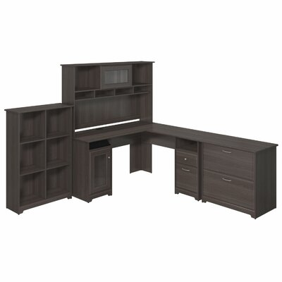 Red Barrel Studio Capital 3-Piece Desk Office Suite