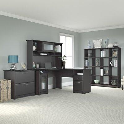 Bush Furniture Cabot 4-Piece L-Shape D..