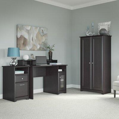 Bush Furniture Cabot 3-Piece Standard Des..
