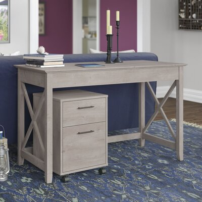 Bush Furniture Key West Writing Desk with..
